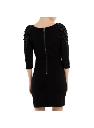 Balmain Elbise Siyah